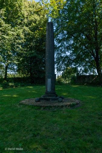 Monument de la bataille de Seneffe le 11 août 1674 opposant la Prince de Condé au Prince d'Orange.